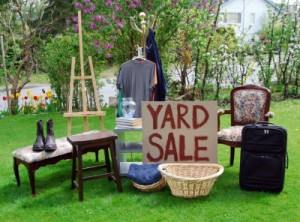 I brake for yard sales.